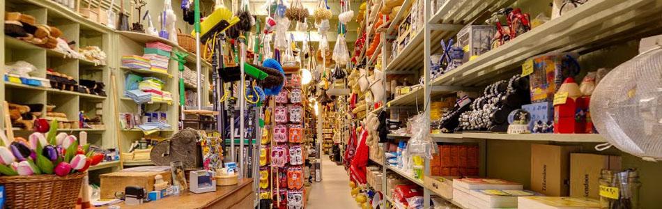 Binnenkijken in de winkel