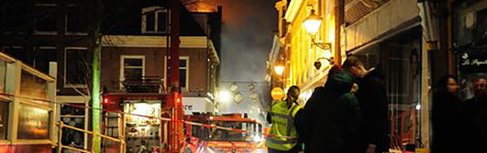 Winkel gesloten wegens brand - Webwinkel blijft beschikbaar