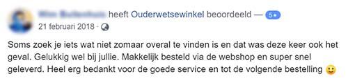 Facebook Review Boom | Ouderwetsewinkel.nl